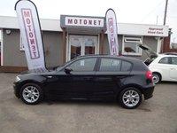 2007 BMW 1 SERIES 2.0 118D SE 5DR HATCHBACK DIESEL 141 BHP £3880.00