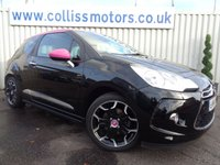 2014 CITROEN DS3 1.6 DSPORT PINK 3d 155 BHP £7495.00