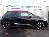 USED 2014 14 CITROEN DS3 1.6 DSPORT PINK 3d 155 BHP