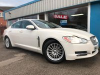 USED 2008 08 JAGUAR XF 2.7 LUXURY V6 4d AUTO 204 BHP