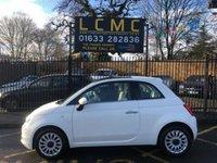 2016 FIAT 500 1.2 LOUNGE 3d 69 BHP £7699.00