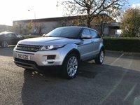 2013 LAND ROVER RANGE ROVER EVOQUE 2.2 SD4 PURE TECH 5d AUTO 190 BHP £17990.00