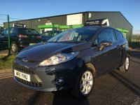 USED 2011 11 FORD FIESTA 1.2 ZETEC 3 DOOR HATCH, ONLY 55000 MILES, WITH FSH.