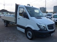 USED 2015 65 MERCEDES-BENZ SPRINTER 316 CDI LWB 14 FT DROPSIDE, 160 BHP [EURO 5]