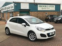 2014 KIA RIO 1.2 1 5d 83 BHP One Owner £30 a year tax !! £6295.00