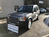 2008 LAND ROVER DISCOVERY 2.7 3 TDV6 HSE 5d AUTO 188 BHP £8495.00