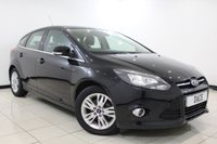 USED 2014 14 FORD FOCUS 1.6 TITANIUM NAVIGATOR TDCI 5DR 113 BHP SAT NAV Full Service History FULL SERVICE HISTORY + SATELLITE NAVIGATION + BLUETOOTH + PARKING SENSOR + CRUISE CONTROL + CLIMATE CONTROL + MULTI FUNCTION WHEEL + 16 INCH ALLOY WHEELS