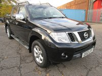 2012 NISSAN NAVARA 2.5 DCi TEKNA DOUBLE CAB 4x4 PICK UP 188 *LEATHER + AIR CON* £8995.00