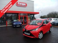 2015 TOYOTA AYGO 1.0 VVT-I X-PLAY X-SHIFT 5d 69 BHP £6995.00