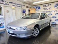 2003 PEUGEOT 406 2.9 V6 2d AUTO 204 BHP £1500.00