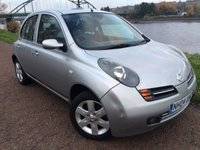 USED 2004 04 NISSAN MICRA 1.4 SX 5d 88 BHP **UNWANTED PART EXCHANGE, SOLD AS SEEN**