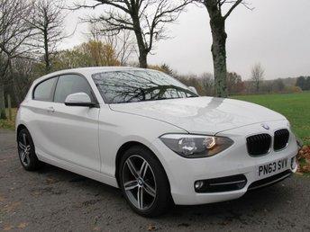 2013 BMW 1 SERIES 2.0 116D SPORT 3d 114 BHP £9695.00