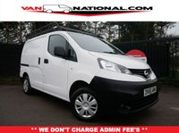 USED 2016 66 NISSAN NV200 1.5 DCI ACENTA  90 BHP ONE OWNER REVERSE CAMERA ****** WAS £8690 REDUCED TO £7990 JANUARY OFFER******