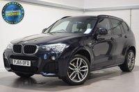 USED 2015 65 BMW X3 2.0 XDRIVE20D M SPORT 5d AUTO 188 BHP