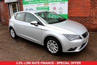 USED 2015 15 SEAT LEON 2.0 TDI SE TECHNOLOGY 5d 150 BHP +SAT NAV +BLUETOOTH +LOW TAX.