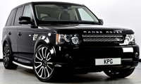 USED 2013 13 LAND ROVER RANGE ROVER SPORT 3.0 SD V6 HSE Black Edition 4X4 (s/s) 5dr Auto [8] Extended Leather, Dual View TV