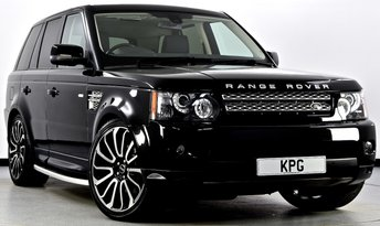 2013 LAND ROVER RANGE ROVER SPORT 3.0 SD V6 HSE Black Edition 4X4 (s/s) 5dr Auto [8] £25495.00