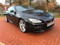 2013 BMW 6 SERIES 3.0 640D M SPORT 2d AUTO 309 BHP £19990.00
