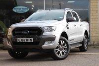 2017 FORD RANGER 3.2 WILDTRAK 4X4 DCB TDCI 1d AUTO 197 BHP £22295.00