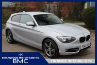 USED 2012 62 BMW 1 SERIES 2.0 118D SPORT 3d 141 BHP