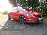 USED 2015 15 VOLVO S60 2.0 D4 R-DESIGN LUX NAV 4d  VERY RARE S60 R DESIGN LUX NAV, NAV, INTERNET CONNECTION, XENON LIGHTS WITH CORNERING, FULL VOLVO SERVICE HISTORY