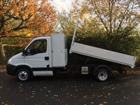 USED 2011 60 IVECO DAILY LWB TOOL BOX TIPPER 2.3 35C11 1 OWNER DIRECT COUNCIL ARBORIST TRUCK