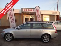 USED 2006 56 VOLVO V50 2.0 D SE 5DR ESTATE DIESEL 135 BHP FREE 12 MONTH WARRANTY UPGRADE