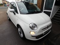 USED 2010 60 FIAT 500 1.4 LOUNGE 3d 99 BHP