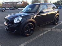 2016 MINI COUNTRYMAN 1.6 COOPER 5d 122 BHP - CHILI PACK £14950.00