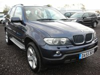 USED 2005 55 BMW X5 3.0 D SPORT 5d AUTO 215 BHP 1 Previous owner - Sat nav - Xenons