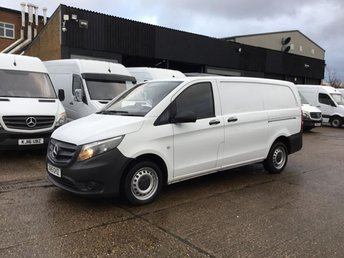 2015 MERCEDES-BENZ VITO 1.6 111CDI LONG 114BHP NEW SHAPE. LOW 27,000 MILES. 1 OWNER. £10490.00