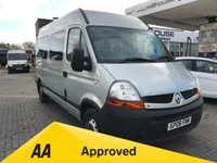 USED 2008 08 RENAULT MASTER 2.5 MM33 MWB L/C Wheel Chair Access Heater Air Conditioning Camper  Conversion NO VAT Night Heater Preparation Table Motor Home Style Overhead Storage Ricon Electric Wheelchair Lift Electric Sidestep Wheel Chair Secure Anchor Points 12 Months FREE AA Breakdown Cover