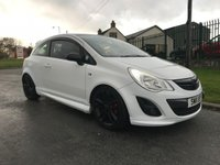 2011 VAUXHALL CORSA 1.2 LIMITED EDITION 3 DOOR WHITE/BLACK ROOF & ALLOYS F.S.H LOW MILES