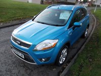 USED 2009 59 FORD KUGA 2.0 ZETEC TDCI AWD 5d 134 BHP ++LOW MILEAGE CAR COMES WITH A FREE 12 MONTHS AA BREAKDOWN COVER++