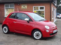 2015 FIAT 500 1.2 COLOUR THERAPY 3d 69 BHP £5995.00