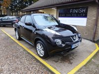 USED 2013 62 NISSAN JUKE 1.5 TEKNA DCI 5d 110 BHP # PARKING CAMERA # SAT-NAV # FULL SERVICE HISTORY # FOLDING MIRRORS # LEATHER INTERIOR #