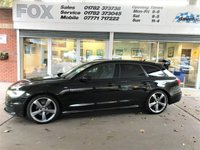 USED 2013 63 AUDI A6 2.0 AVANT TDI S LINE BLACK EDITION 5d AUTO 175 BHP STUNNING AUDI A6 AVANT 2.0 TDI S LINE BLACK EDITION AUTO