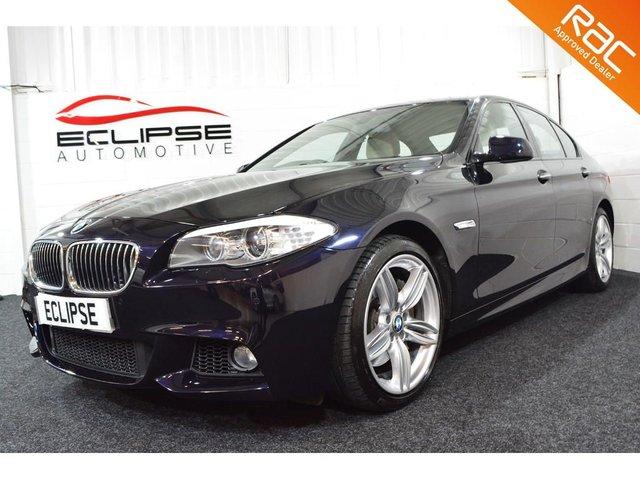 2013 13 BMW 5 SERIES 3.0 535D M SPORT 4d AUTO 309 BHP