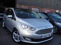 USED 2015 65 FORD C-MAX 2.0 TITANIUM X TDCI 5d AUTO 148 BHP ANY PART EXCHANGE WELCOME, COUNTRY WIDE DELIVERY ARRANGED, HUGE SPEC