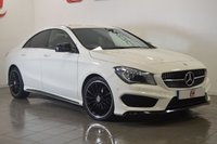 USED 2015 15 MERCEDES-BENZ CLA 1.6 CLA180 AMG SPORT 4d 122 BHP ONLY 34,000 + FULL MERC HISTORY + PRIVACY GLASS