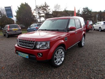 2015 LAND ROVER DISCOVERY 3.0 SDV6 COMMERCIAL SE 1d AUTO 255 BHP £32995.00