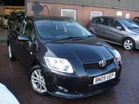 2009 TOYOTA AURIS 1.6 TR VVT-I 5d 122 BHP £SOLD