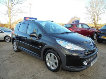 2008 PEUGEOT 207 1.6 SW OUTDOOR HDI 5d 89 BHP, ONLY 49,000 MILES, FSH, STUNNING £3250.00