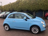 2014 FIAT 500 1.2 LOUNGE 3d  LOW MILEAGE, LOW TAX AND INSURANCE  £6000.00