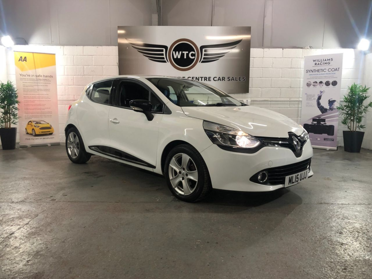USED 2015 15 RENAULT CLIO 0.9 DYNAMIQUE MEDIANAV ENERGY TCE S/S 5d 90 BHP  ...