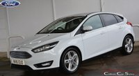 USED 2016 16 FORD FOCUS 1.5TDCi ZETEC 5 DOOR 6-SPEED 120 BHP Finance? No deposit required and decision in minutes.