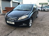 USED 2008 58 HONDA FR-V 2.2 I-CTDI EX 5d 140 BHP 6 SEATER-DIESEL-LEATHER UPHOLSTERY-5 DOOR-MANUAL-12 MONTHS MOT