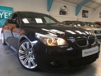 2008 BMW 5 SERIES 3.0 535D M SPORT 4d AUTO 282 BHP
