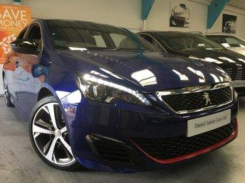2016 PEUGEOT 308 1.6 GTI THP S/S BY PEUGEOTSPORT 5d  £14490.00