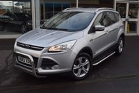 USED 2013 13 FORD KUGA 2.0 ZETEC TDCI 5d 138 BHP FINANCE TODAY WITH NO DEPOSIT
